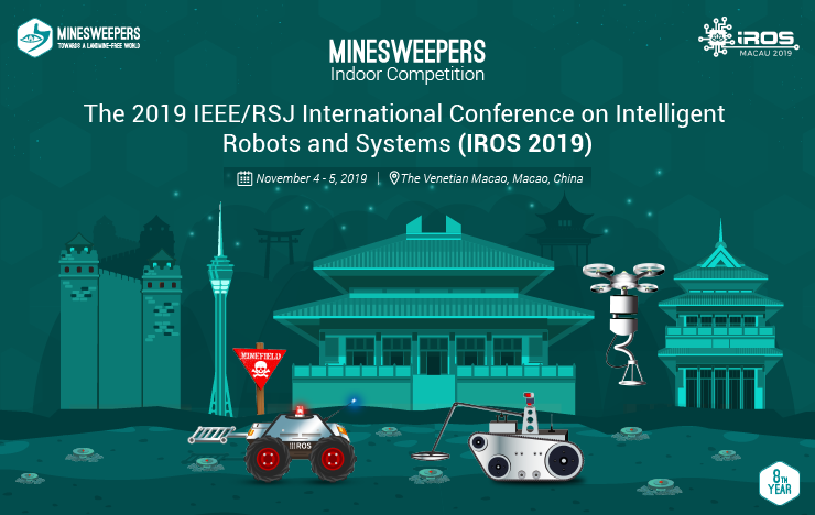 Minesweepers Competition at IROS 2019