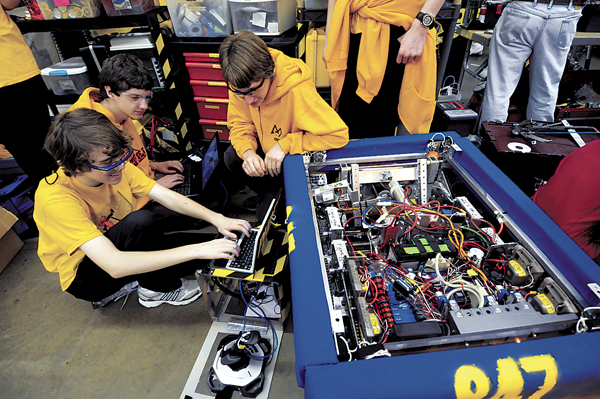 0305 robotics competition philomath 1