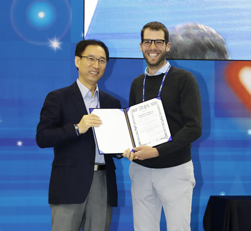 Best Cognitive Robotics paper small