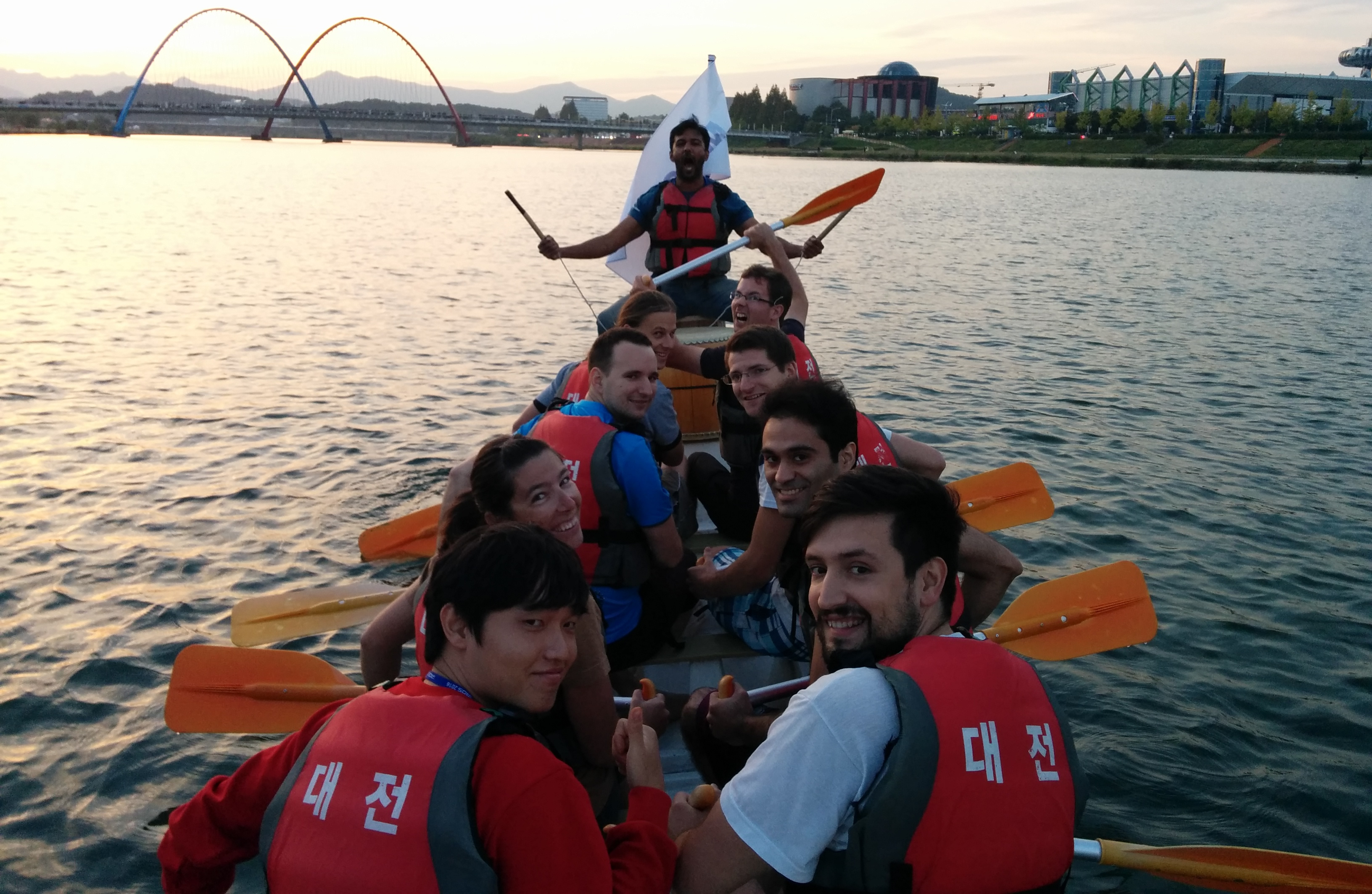 Dragon Boat race at IROS 2016