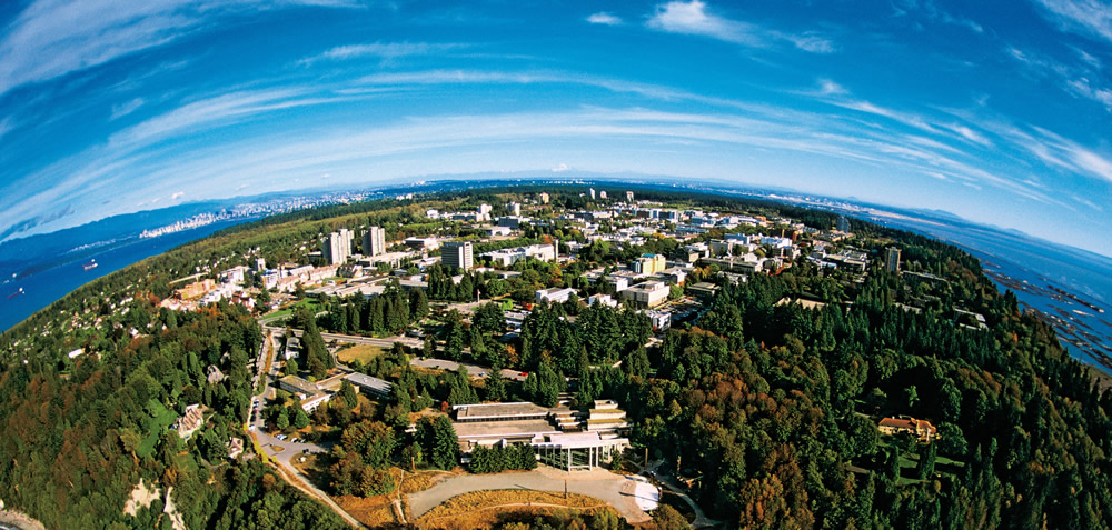 Univ British Columbia aerial small
