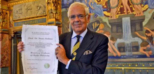Bruno Siciliano, Honorary Professor at Obuda University