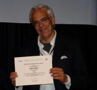 2010 Distinguished Service Award, Bruno Siciliano